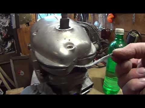 Двигатель ИЖ 56 (крышка сцепления)