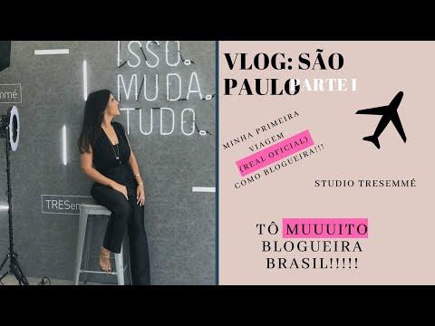 VLOG SÃO PAULO PARTE I : MINHA MAIOR VIAGEM BLOGUEIRA!!! || STUDIO TRESemmé!!!