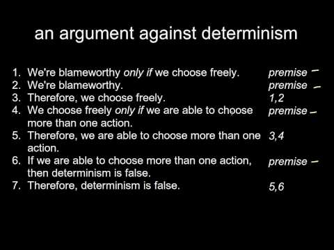 an argument against determinism in the free will and determinism debate Check out the online debate free will vs determinism debates opinions forums polls google search my debates start a new debate challenge period  (against) bradk free will vs determinism  report this argument this round has not been posted yet.