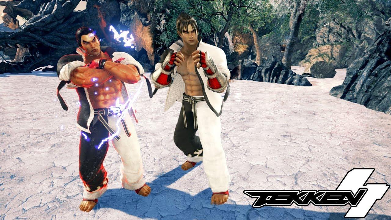 Tekken 7 Mods Jin Kazama T4 Costume With Kazuya Version Youtube