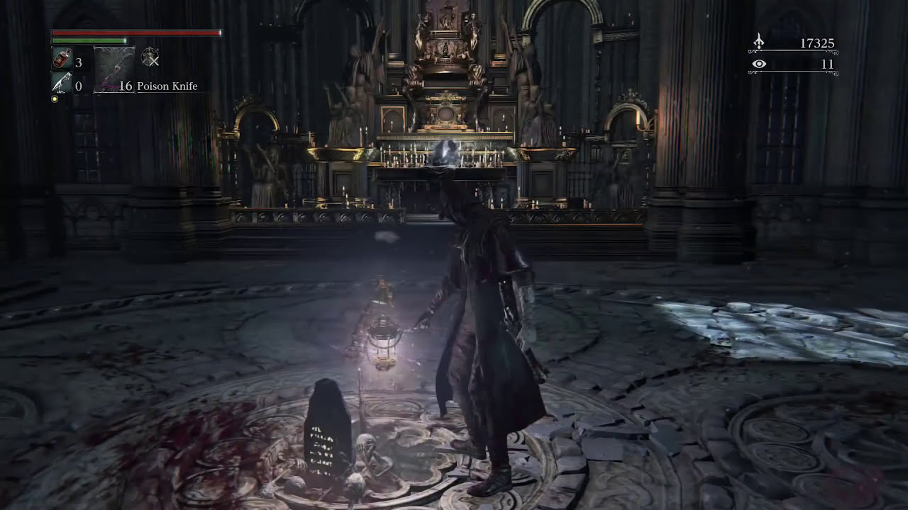 How To Open The Door Password L Cathedral Ward In Bloodborne
