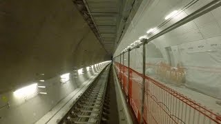 Crossrail Railway Systems: End to End journey through Elizabeth line tunnels