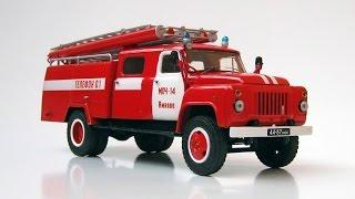 Собранная модель - АЦ-30 ГАЗ-53 (AVD Models)