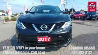 2017 Nissan Qashqai SV AWD Review at Cobourg Nissan