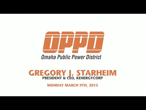 OPPD Board CEO Selection Process Interview with Gregory Starheim - Monday March 9th, 2015