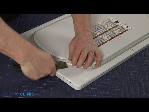 Dryer Door Seal Replacement - Electric Washer/Dryer Combo (Model #WET4027EW0)