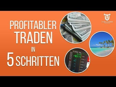 5 Schritte, die dich zu einem profitableren Trader machen