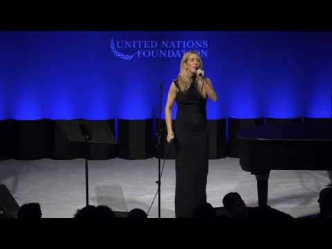 Ellie Goulding - Burn / Love Me Like You Do (2017 United Nations Global Leadership)