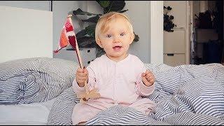 VLOG: Lily 1 år - fest, minder & fødsel