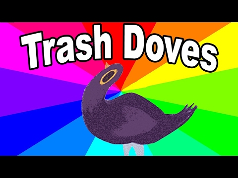 Trash Dove Dancing to Kahoot