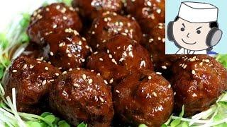 Sweet and sour meatballs 肉団子甘酢