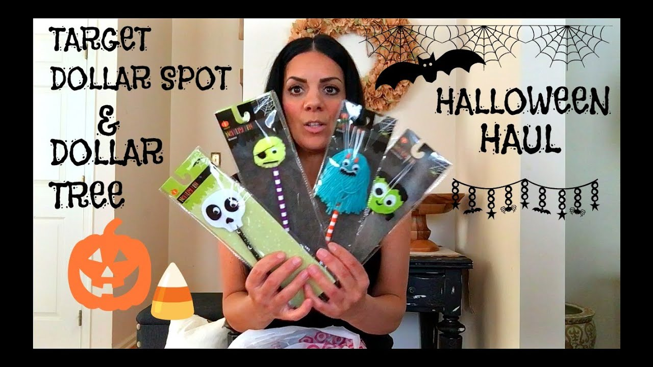 new target dollar spot halloween haul 2016 dollar tree halloween haul - Target Halloween Tree