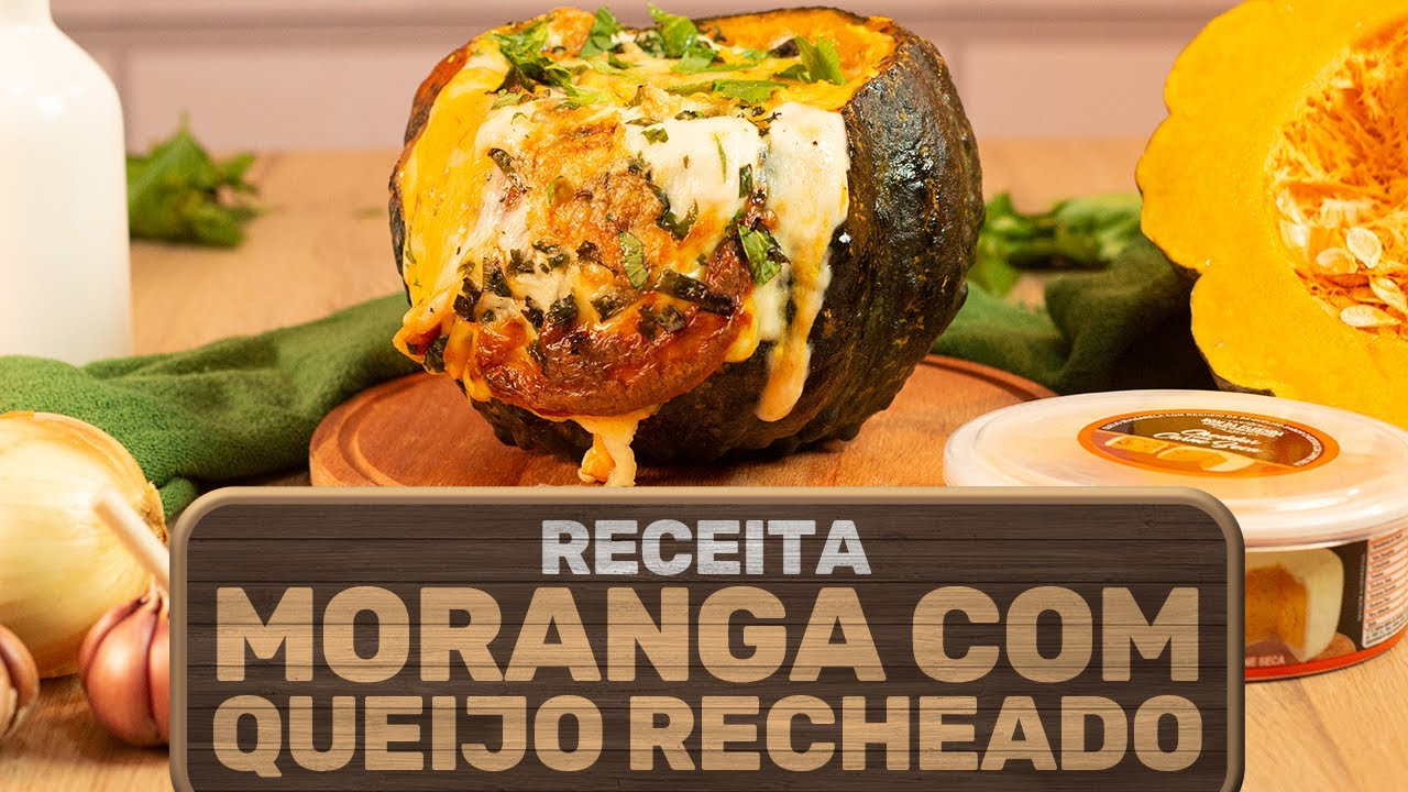 Moranga Cabotiá com Queijo Recheado Cheddar com Carne Seca Bom da Fazenda