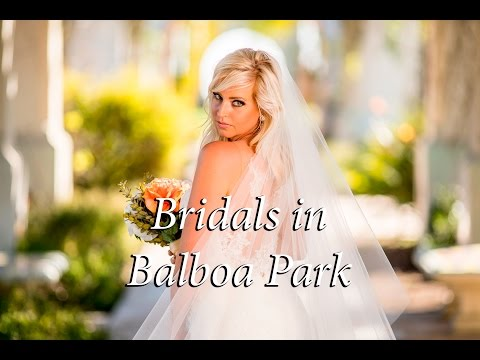 Bridal Shoot in Balboa Park- Commercial Photography Using the Sony A7Rii with Canon 200mm f/2.8
