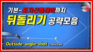 About Outside Angle Shot Collection from the basic to position play. Billiards. 3Cushion Carom