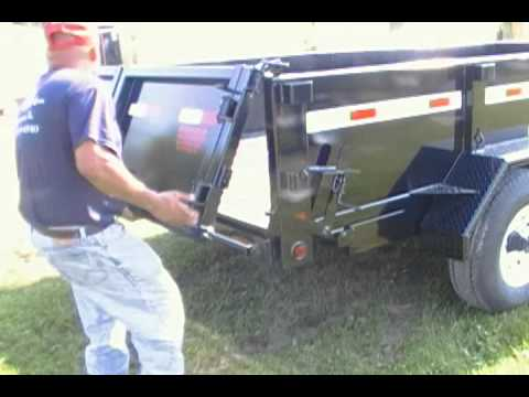 Barn Doors Close Amp Dump Gate Youtube