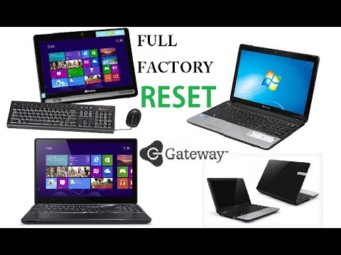 restore factory settings windows vista acer laptop