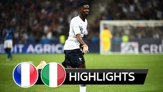 France vs Italy 3-1 - All Goals & Extended Highlights  (01/06/2018)  HD