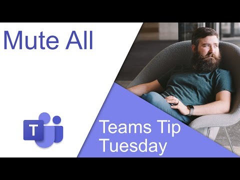 Mute All - Microsoft Teams Tip Tuesday
