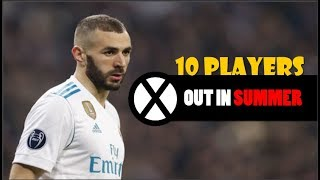 10 Players Real Madrid Could Sell In Summer Transfer | 2018