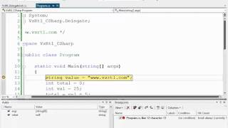 1- مقدمة دورة تصحيح البرامج بإستخدام Visual Studio