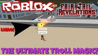 Roblox| FairyTail Revelation Controlling Gravity!