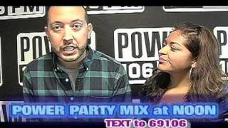 """Power Party Mix at Noon""-Power 106 Los Angeles (DJ Reflex & Yesi Ortiz)"