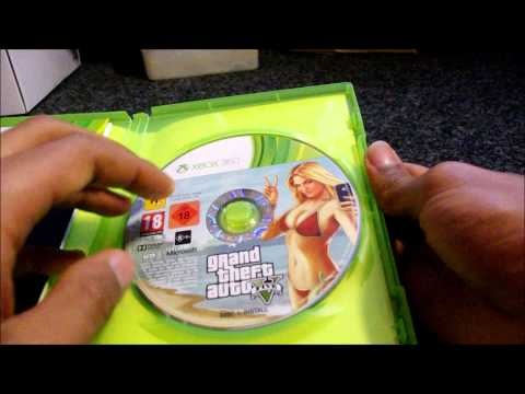 Unboxing GTA 5 For  Xbox 360