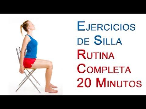 Rutina Completa Ejercicios de Silla Basicos 20 Minutos