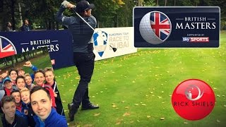 THE CROWDS GO WILD- THE BRITISH MASTERS PRO- AM Pt 3