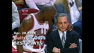 December 28, 1996 Bulls vs Cavs highlights
