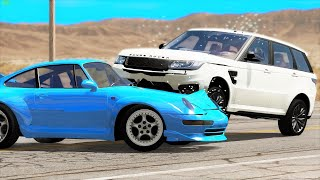 Will these Cars still Drive after Crashing? #92 - BeamNG Drive | CRASHdriven