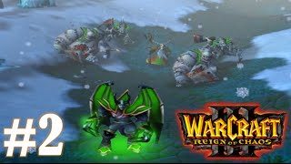 Warcraft 3 Story - PART 2 (All Cutscenes & Cinematics) | CHASING MAL'GANIS |