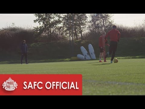 Coleman's First Training Session