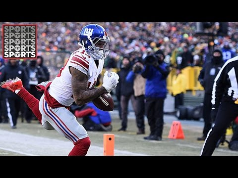 Odell Beckham Jr Had a Very Bad Game, Steelers Offense is Terrifying