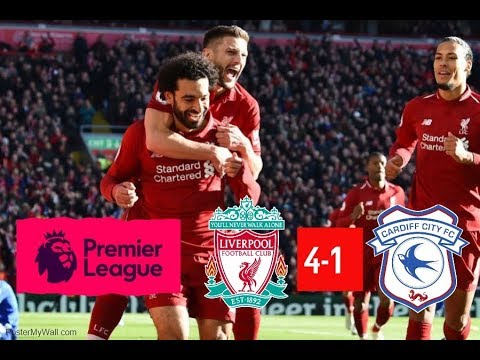 Liverpool vs Cardiff City , Saturday October 27th 2018
