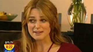 Keira Knightley interview (Pride and Prejudice promotion) thumbnail