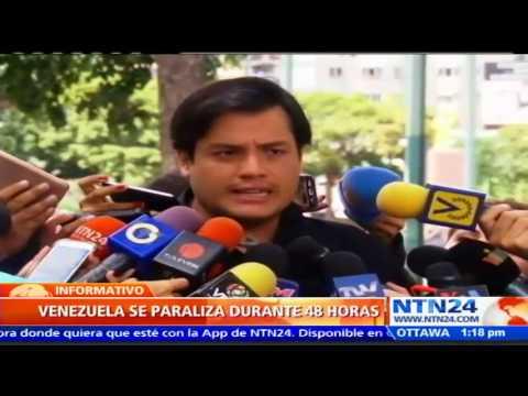 """""""Sin importar que pase en Venezuela, el lunes amanecerá diferente"""": diputado Carlos Paparoni"""