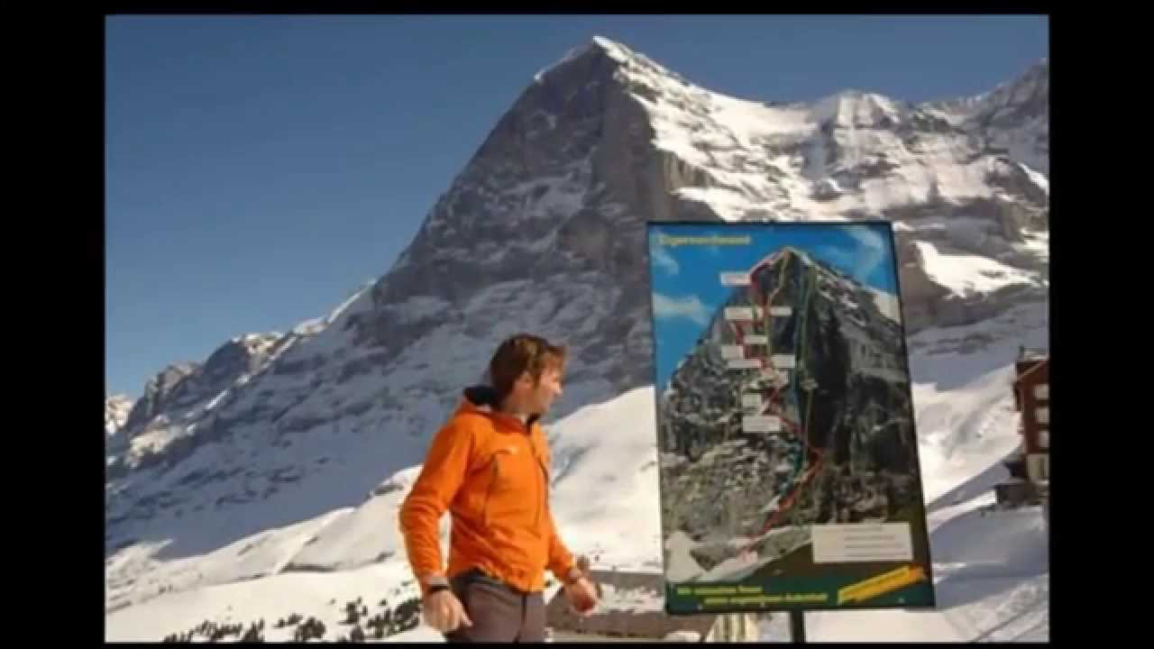 Ueli steck new speed record eiger 2015 youtube - Ueli Steck Ascensi N Al Eiger Cara Norte Record Eiger North Face Record