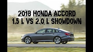 2018 Honda Accord: which engine to pick?