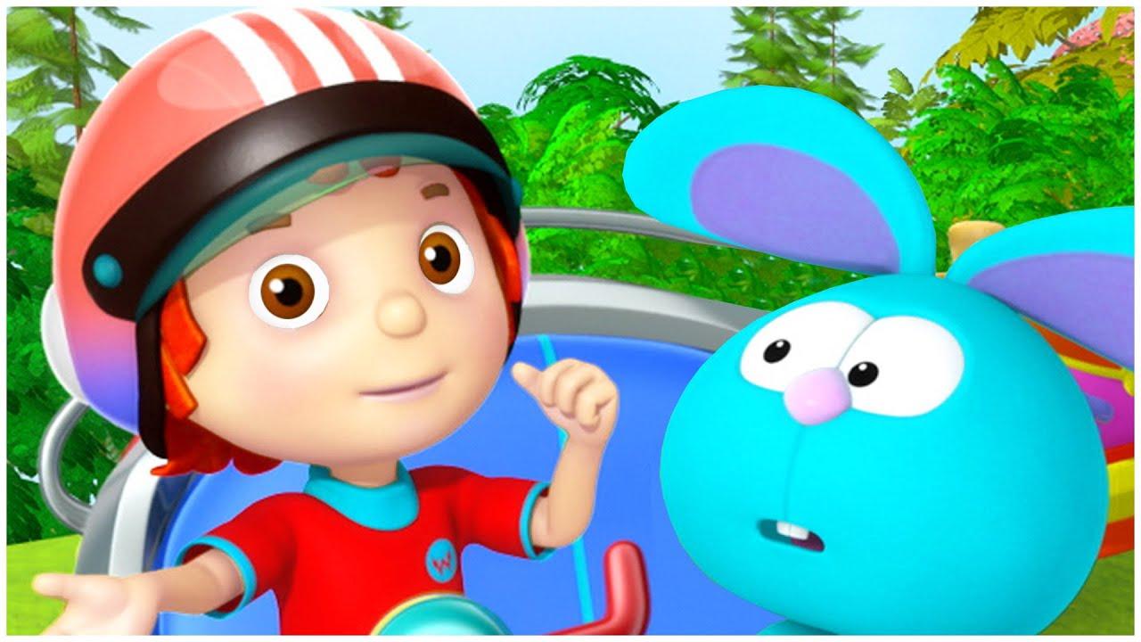 دنيا روزي | حلقات كاملة | رسوم متحركة عربية للأطفال | إنه يوم السباق!