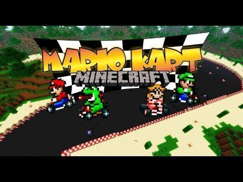 Building Mario Kart! - Minecraft for Switch [Super Mario Edition] [CO-OPERATIVE BUILDERS WANTED!]