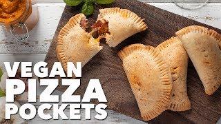 Vegan Pizza Pockets | Two Market Girls