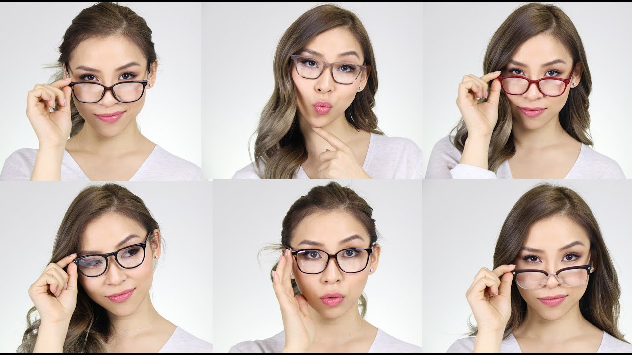How To Style Glasses For Your Face Lookbook Tina Yong Youtube