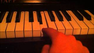 "How To Play ""Black Ops Zombie Theme"" On Piano"