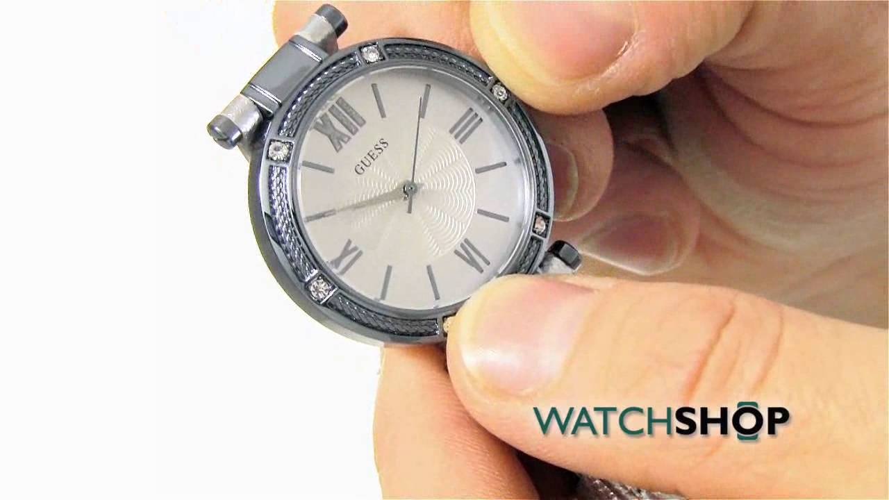 f6832af516d3 Guess Ladies  Park Ave South Watch (W0838L3) - YouTube