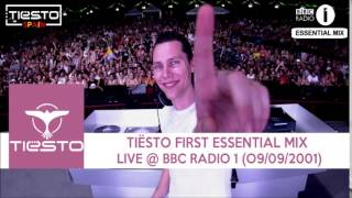 Tiësto - First Essential Mix Live @ BBC Radio 1 (2001)