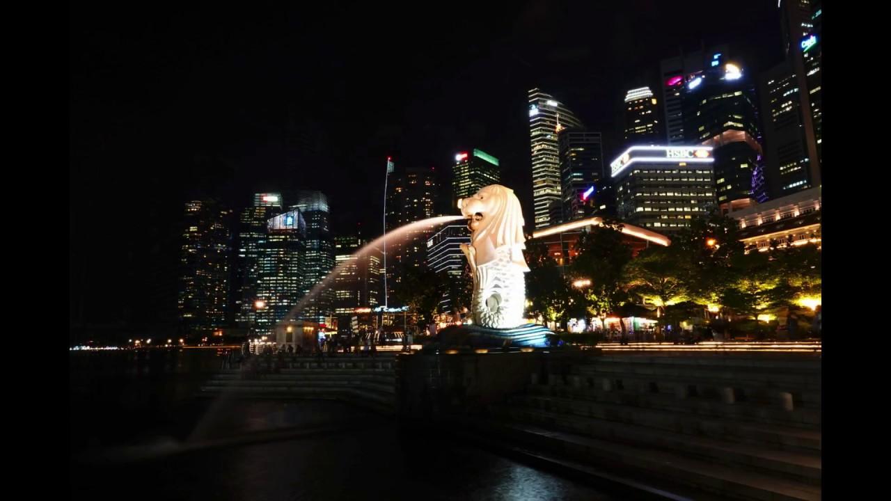 Sony RX10 IV Night Photo Samples 1080p Marina Bay Sands Merlion