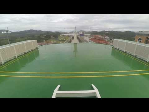 panama chanel - fast pass on the ship