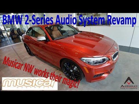 BMW 2-Series Hi-Fi Audio System Overhaul